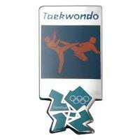 Taekwondo- első nap- rögtön páston Peking egyik bajnoka