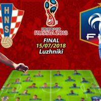 Bicske Szíve Park 17.00 VB-döntő: nézzük meg együtt, ki foglalja el a futballvilág trónját!