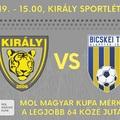 Tigrisek a Tigrisek ellen - Szombathelyen igazi kupahangulat és Halmosi Péter várja a Bicskei TC csapatát!