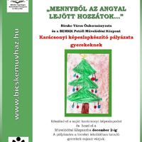 Karácsonyi képeslapkészítő pályázat bicskei tanulóknak!