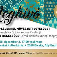 Adventi kiállítással debütál vasárnap délután a Bicskei Kultúrkúria!