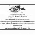 Szeptember 11-én pénteken búcsúzunk Fenyvesi Endréné Éva nénitől!
