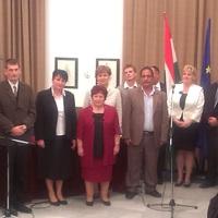 Esküt tett Bicske új képviselő testülete és polgármestere
