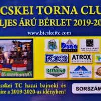 A mai napon megkezdődik a Bicskei TC szezonbérleteinek árusítása!