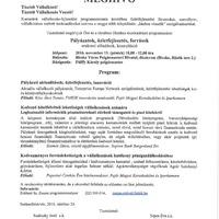 Bicskei vállalkozóknak, cégvezetőknek: fórum november 11-én a Polgármesteri Hivatalban!