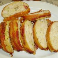 KONYHATÜNDÉR: Csirkemell őzgerinc formában