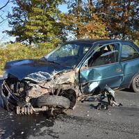 Személyi sérüléses baleset Felcsúton, a Fő utcában!