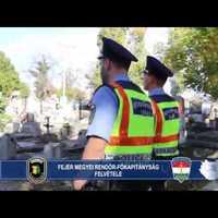 Rendőrségi tanácsok Mindenszentek és halottak napja alkalmával - videóval!