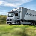 Mercedes-Benz eActros - A csendes fuvaros