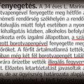 Borotva-ízű rágógumi