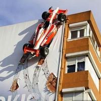 Látványos F1 reklám