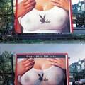 Kreatív szexi reklám