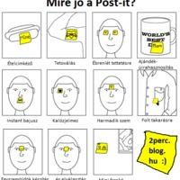 mire jó a Post-it?