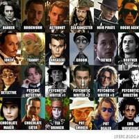 Johnny Depp ezer arca