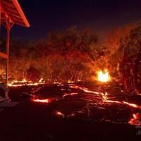 pusztító vulkán Hawaiin