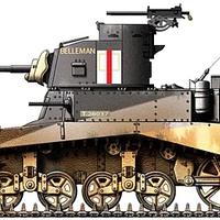 M3 'Stuart' könnyű harckocsi