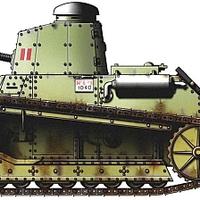FIAT 3000B könnyű harckocsi