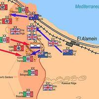 Észak-Afrika, El-Alamein - 1942 vége [122.]