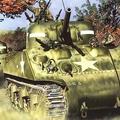 A Sherman M4-es közepes harckocsi [72.]