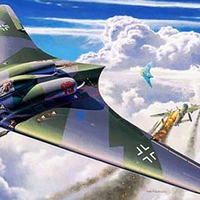 Horten IX (Ho-229) csupaszárny repülőgép [101.]