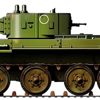 BT-7A tüzérségi harckocsi