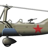 Kamov A-7 autogiro