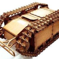 Goliath Sd.Kfz.302 távvezérlésű robbantószerkezet
