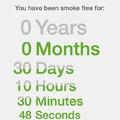 30 nap füstmentesen: SIKERÜLT!