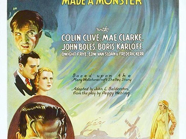 8. Frankenstein (1931)