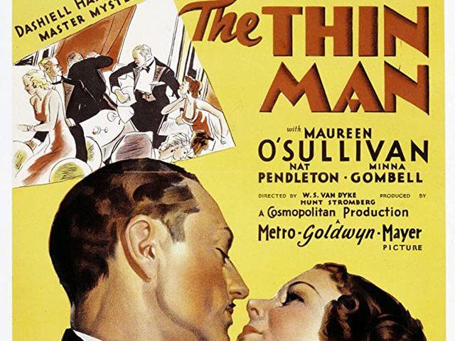 15. A cingár férfi / Tetemrehívás (The Thin Man) (1934)
