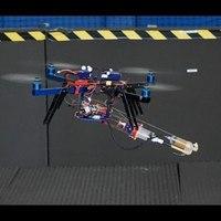 Bemutatták az első repülő 3D nyomtatót