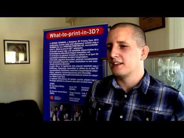 Az első magyar 3D nyomtatás pályázat eredménye