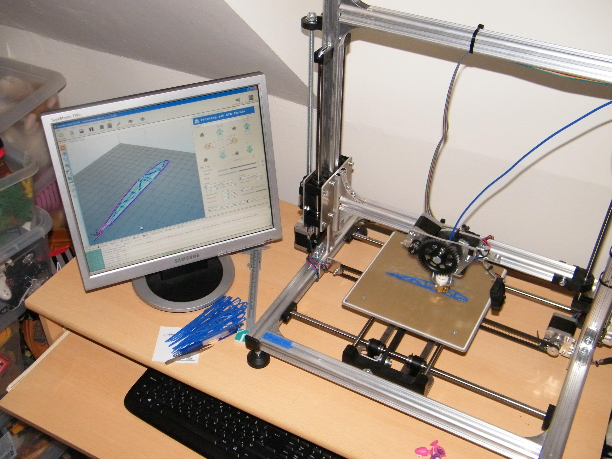 A 3D nyomtató