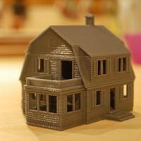 Házmakett nyomtatása, avagy mire lehet használni még egy 3D nyomtatót?