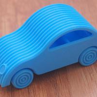 Kis 2CV Citroen autó i3-mal nyomtatva