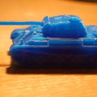 H0 második világháborús tank