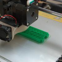 Egyben 3D nyomtatott emelő platform