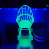 Pici dolgok - miniatűr szék - apró részletek és tárgyak 3D nyomtatása