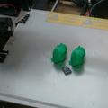 Extrém rétegvastagság teszt: 20 mikron a Wanhao Duplicator i3-mal