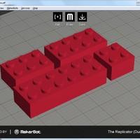 Lego kockák nyomtatása és a nyomtatási pontosság