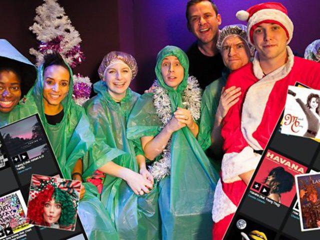 Hogyan jelent meg a karácsony a BBC Radio 1 playlistjében?