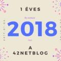 Egy éves lett a 42NETBlog! - Így tervezzük ezt az évet