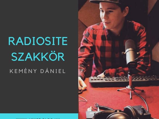 """""""Szeretném azt a rengeteg örömet visszaadni a hallgatóimnak, amit a rádión keresztül szereztem..."""" - Bemutatkozik Kemény Dániel"""