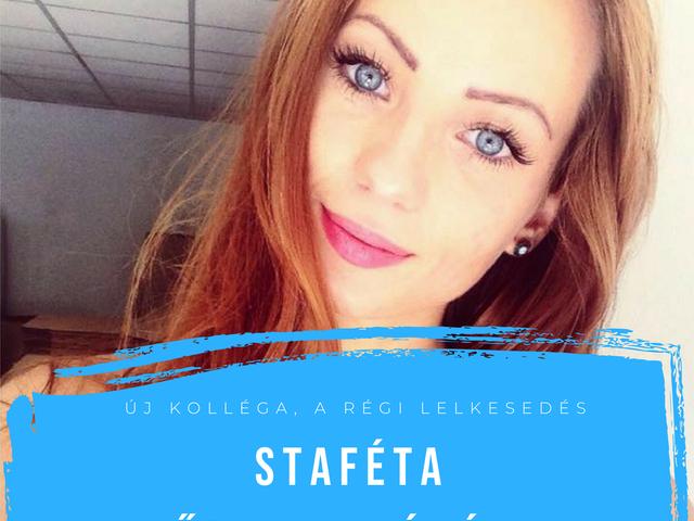 """""""Imádom hallgatni az emberek különböző történeteit"""" - Staféta Főcze Ramónával"""