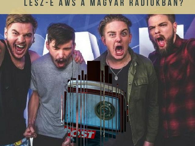 Mit kezdenek a rádiók az AWS nyertes dalával?