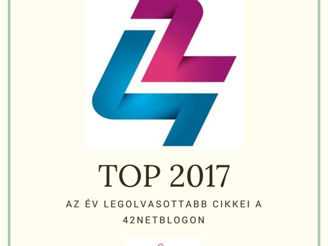 A TOP 5 legolvasottabb cikk 2017-ben a 42NETBlogon