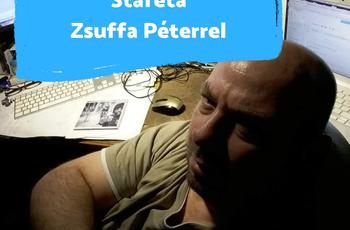 """""""Nem szoktam leereszteni"""" - Staféta Zsuffa Péterrel"""