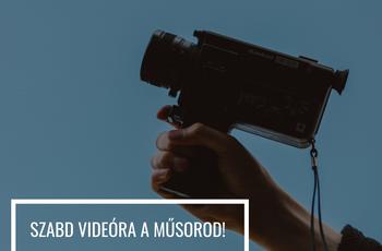 Így videósítsd a műsorodat!