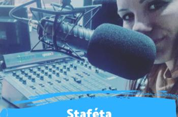 """""""A rádió megtanított, hogy megéri dolgozni és nem szabad feladni"""" - Staféta Járay Zsanettel"""