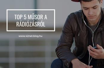 TOP 5 műsor a rádiózásról